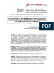 A Politização Da Jurisdição Constitucional. Glauco Salomão Leite