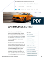 2018 Mustang Refresh Released _ 2018 Mustang Photos _ CJ Pony Parts