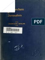 Downling - The Patriarchate of Jerusalem