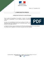 CP - Situation Maîtrisée Par Les Forces de l'Ordre à Montélimar - 17 Septembre 2018