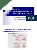 Aula 10 Comandos Eletricos Motores Ligacao