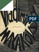 Mayakovsky, Vladimir - Bedbug and Selected Poetry (Weidenfeld and Nicolson, 1961)