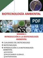 Biotecnol. Ambient. Semana 1 e.p. Biología