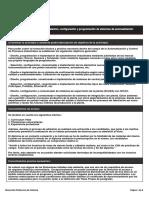 Diploma de Especialización en Instalación, Configuración y Programación de Sistemas de Automatización Industrial