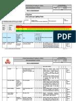 RA 021 Risk Assessment - Installation of External Landscape Lighting Works