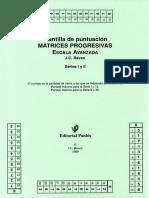 Plantilla de puntuación - RAVEN.pdf