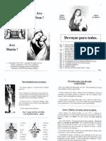 Livro Orações Católicas - Igreja Católica Para imprimir pdf. Devoção Para Todos