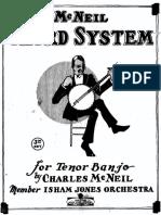 McNeil Tenor Banjo