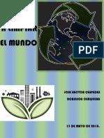 A Limpiar El Mundo Educacion Ambiental-1