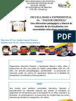 Presentación EBEL Dr. Pastor Oropeza 2018