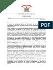 Comunicado - Arzobispado de Caracas