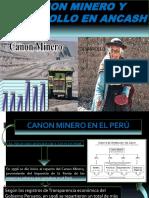Canon Minero y desarrollo en