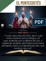 Lección 2- El Pentecostés