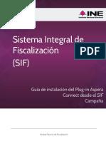 Guia Ingreso SIF Instalacion Plugin AsperaConnect