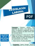 Regimenes Laborales en El Perú 2016