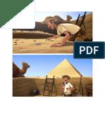 Egyptian Pyramids Storyboard