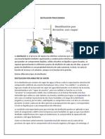 Destilacion por Arrastre