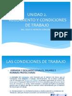 Reglamento y Condiciones de Trabajo