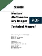Codonics Horizon Dry Imager Service Manual