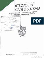 Mitropolia Moldovei Și Sucevei 1978