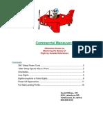 Aviation Commercial Maneuvers