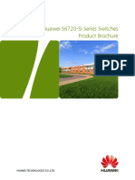 Huawei S6720-SI Series Switches Product Brochure
