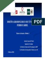 Dimensionamiento de Túneles Ferroviarios. a. Lozano 2016