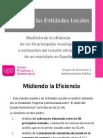 101006 El Coste de Las Entidades Locales