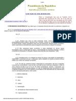 L13467 - Reforma Trabalhista
