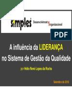 Palestra-A Influência Da Liderança No SGQ