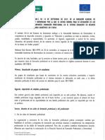 Instrucción 2018 DGFP Extremadura