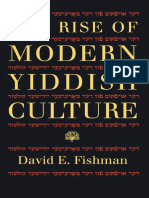 David E. Fishman The Rise of Modern Yiddish Cult