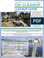 Clinton River Cleanup Event Guide