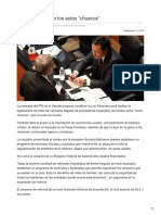 14/Septiembre/2018 Busca PRI regular los autos chuecos