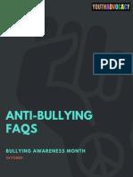Anti Bullying FAQs