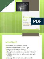 Psychology 1