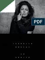Isabelle Boulay (en Vérité) Livret