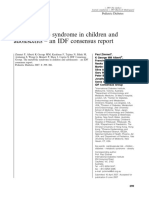Critérios do IDF para SM em crianças e adolescentes_Zimmet Et Al-2007