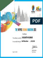 Wipro Chennai Marathon