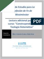 Guía de Estudio, Confesión de Fe de Westminster