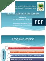 historia clinica obstetricia