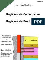 REGISTRO DE POZOS - Registros en Hoyo Entubado