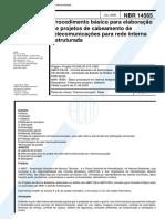 nbr-14565-procedimento-basico-para-elaboracao-de-projetos-de-cabeamento-de-telecomunicacoes-.pdf