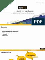 SCDM-Intro 17.0 Module05 CFD Modeling