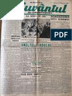 Cuvantul anul XVII (serie noua) nr. 17, 30 oct. 1940