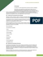 13 Os Tipos de Sistemas de Informação