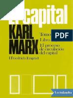 El Capital P Scaron Libro segundo Vol 4 - Karl Marx.pdf