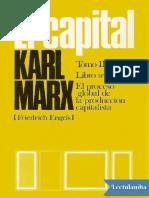 El Capital P Scaron Libro tercero Vol 7 - Karl Marx.pdf