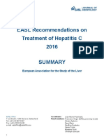 Summary-EASL Recommendations On