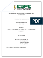 Informe 1 - Entrega de Datos